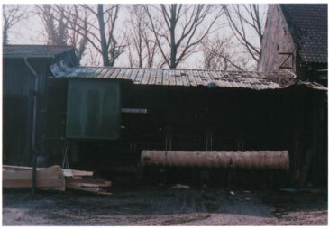 local sawmill - trunk without bark
